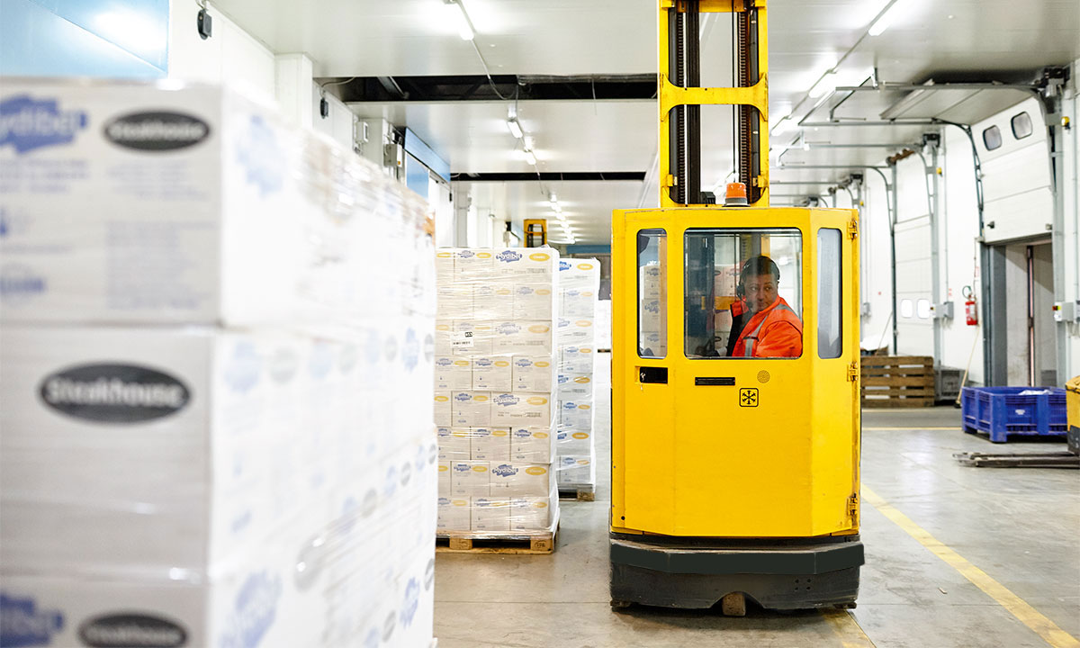 Receiving, storing and material handling